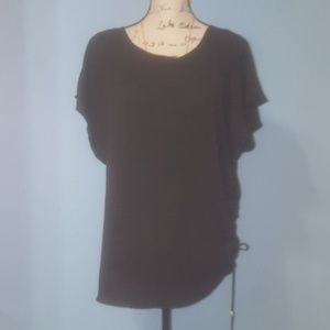 Black MK side tie top- 1x
